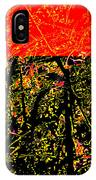 Dancing Branches IPhone Case