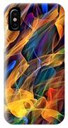 Dancing Flames IPhone Case