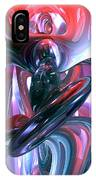 Dancing Hallucination Abstract IPhone Case