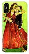 Dancing In The Showlights IPhone Case