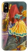 Dancing N Jammin In The Street  Abstract  IPhone Case