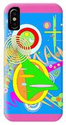 Dancing Spirals 2 IPhone Case