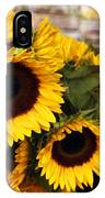 Dancing Sunflowers IPhone Case