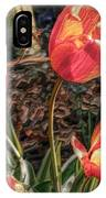 Dancing Tulips IPhone Case
