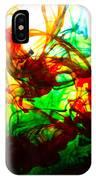 Dancing Water Colors IPhone Case
