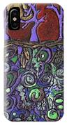 Dancing With The Trees IPhone Case