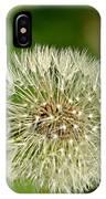 Dandelion Puff IPhone Case