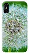 Dandelion Seed Head Expressionist Effect IPhone Case