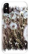 Dandelion Wishes IPhone X Case