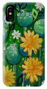 Dandelions In People's Park IPhone Case