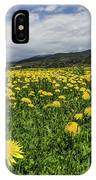 Dandelions Portrait IPhone Case