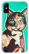 Daphne The Calico Cat IPhone Case