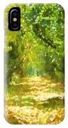 Dappled Light Of Daydreams IPhone Case