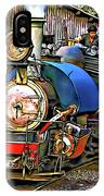 Darjeeling Toy Train IPhone Case