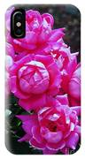 Dark Pink Roses IPhone Case
