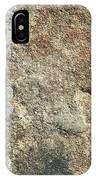 Dark Sandstone Surface With Moss IPhone Case