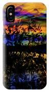 Dark Shadowy Sunset IPhone Case