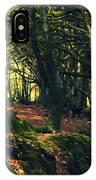 Dark Woods IPhone Case
