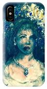 Darling Blue IPhone Case by Laurie Lundquist
