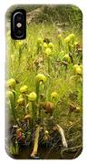 Darlingtonia Plants Grow Beside IPhone Case