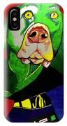 Darth Meaty IPhone Case