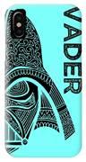 Darth Vader - Star Wars Art - Blue IPhone Case