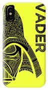 Darth Vader - Star Wars Art - Yellow IPhone Case