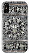Dashavtar B/w 4 IPhone Case