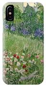 Daubigny's Garden IPhone Case