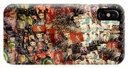 David Bowie Collage Mosaic IPhone Case