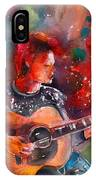 David Bowie In Space Oddity IPhone Case