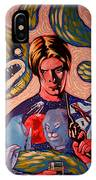 David Bowie Song Reference Painting IPhone Case