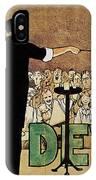David Devant Poster C1910 IPhone Case