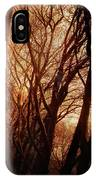 Dawn In The Trees IPhone Case