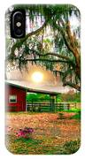 Dawning At The Barn IPhone Case