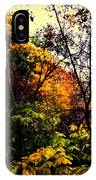 Day In The Woods  IPhone Case