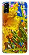 Day Lilies In The Sky With Diamonds  IPhone Case