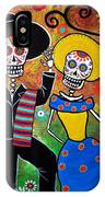 Day Of The Dead Bailar IPhone Case