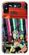 Day Of The Dead Truck Decorations  IPhone Case