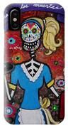Day Of The Dead Waitress IPhone Case