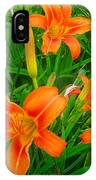 Daylily Greeting IPhone X Case