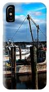 Days End At The Dock IPhone Case