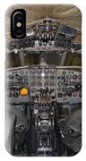 De Havilland Dh106 Comet 4 G Apdb Cockpit Full Size Poster IPhone Case