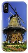 De Zwaan Windmill In Holland IPhone Case