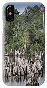 Dead Lakes Cypress Stumps IPhone Case