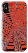 Dead Tree Oval #1 Abstract IPhone Case