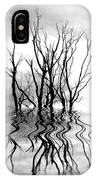 Dead Trees Bw IPhone Case