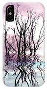 Dead Trees Colored Version IPhone Case