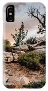 Deadwood Sunset IPhone Case