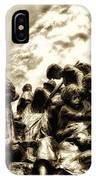 Death In The Time Of The Irish Famine IPhone Case
